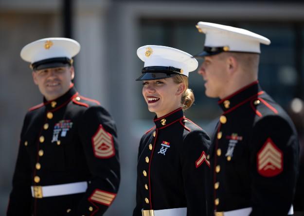 海兵隊の皆さん